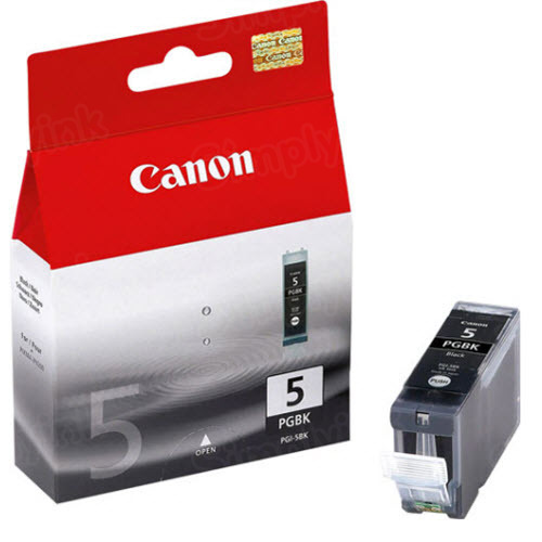 Canon PGI-5Bk Black OEM Ink Cartridge
