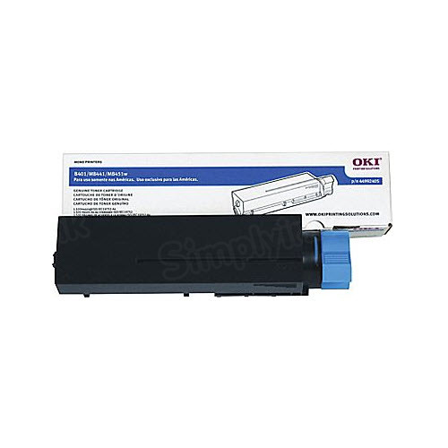 OEM Okidata 44992405 Black Toner Cartridge