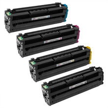 Samsung CLT-504S Series Compatible Set of 4: Black, Cyan, Magenta, & Yellow Toners