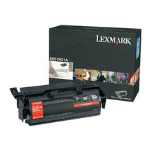 Lexmark OEM High Yield Black Laser Toner Cartridge, X651H21A (X651/X652/X654) (25,000 Page Yield)