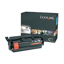 Lexmark OEM Extra High Yield Black Laser Toner Cartridge, X654X21A (X654/X658) (36,000 Page Yield)u00a0
