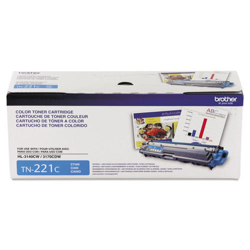 OEM Brother TN221C Cyan Toner Cartridge