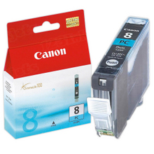 Canon CLI-8PC Photo Cyan OEM Ink Cartridge, 0624B002