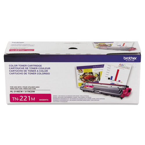 OEM Brother TN221M Magenta Toner Cartridge