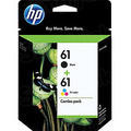 Original HP 61 Black and TriColor Ink Pack CR259FN