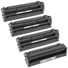 Samsung CLT-503L Series Compatible Set of 4: Black, Cyan, Magenta, & Yellow Toners