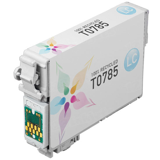 Epson Remanufactured T078520 Light Cyan Inkjet Cartridge