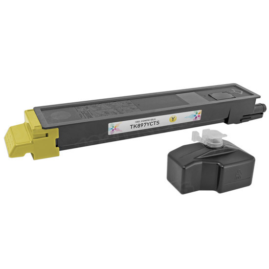 Kyocera-Mita Compatible 1T02K0AUS0 Yellow Toner Cartridge