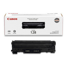 Canon 128 (2,100 Pages) High Yield Black Laser Toner Cartridge - OEM 3500B001AA