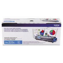 OEM Brother TN225C High Yield Cyan Laser Toner Cartridge