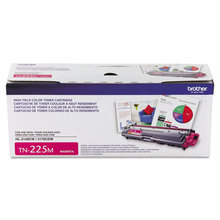 OEM Brother TN225M High Yield Magenta Laser Toner Cartridge