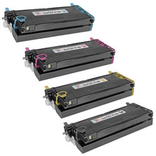 Remanufactured Phaser 6180 Xerox High-Capacity Set of 4 Toner Cartridges: Black, Cyan, Magenta, & Yellow