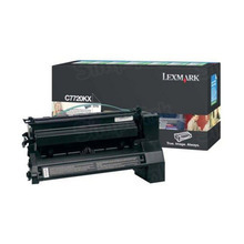 Lexmark OEM Extra High Yield Black Return Program Laser Toner Cartridge, C7720KX (C772/X772 Series) (15K Page Yield)