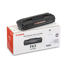 Canon FX-3 (2,700 Pages) High Yield Black Laser Toner Cartridge - OEM 1557A002BA