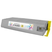 Remanufactured Okidata 41963001 (Type C4) Yellow Laser Toner Cartridges 10K Page Yield
