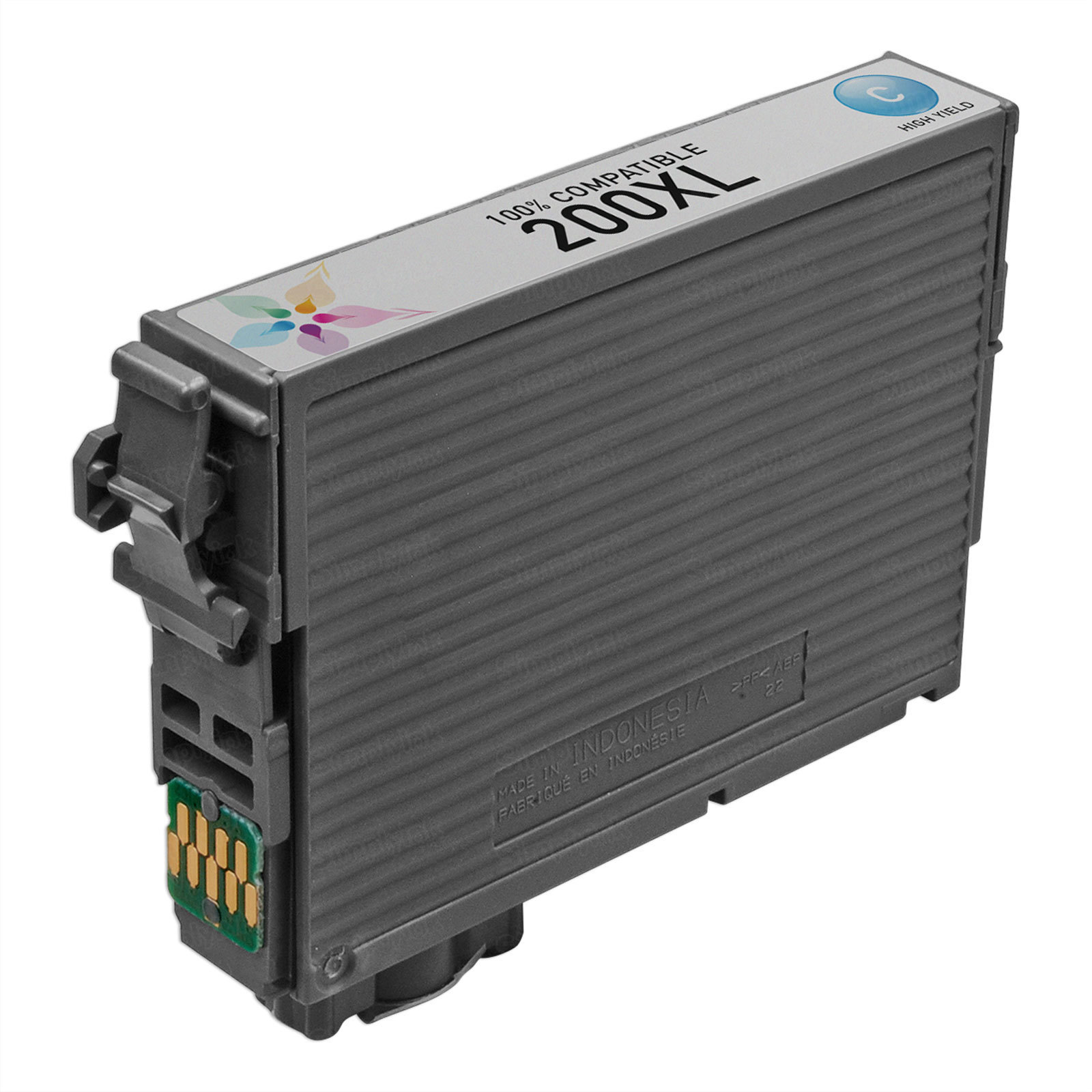 Epson Remanufactured T200XL220 HY Cyan Ink