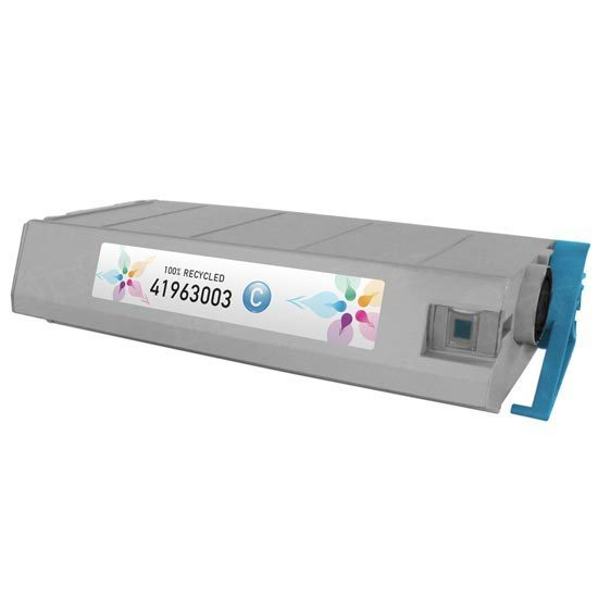 Okidata Remanufactured 41963003 Cyan Toner