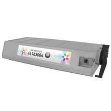 Remanufactured Okidata 41963004 (Type C4) Black Laser Toner Cartridges 10K Page Yield