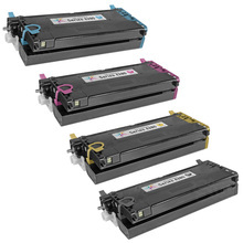 Compatible WorkCentre 6280 Xerox High-Capacity Set of 4 Toner Cartridges: Black, Cyan, Magenta, & Yellow