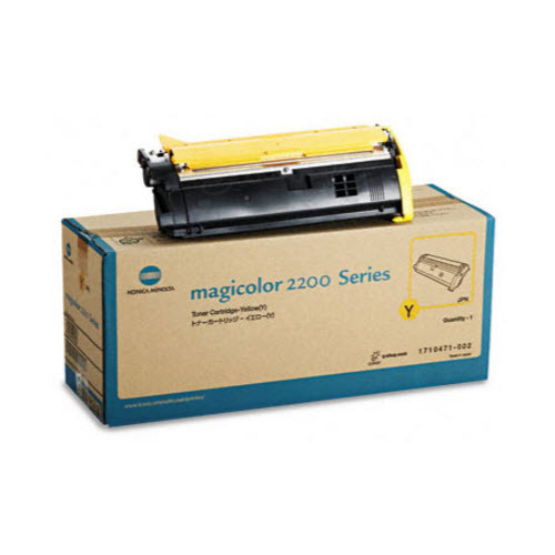 1710471 Yellow Toner for Konica Minolta