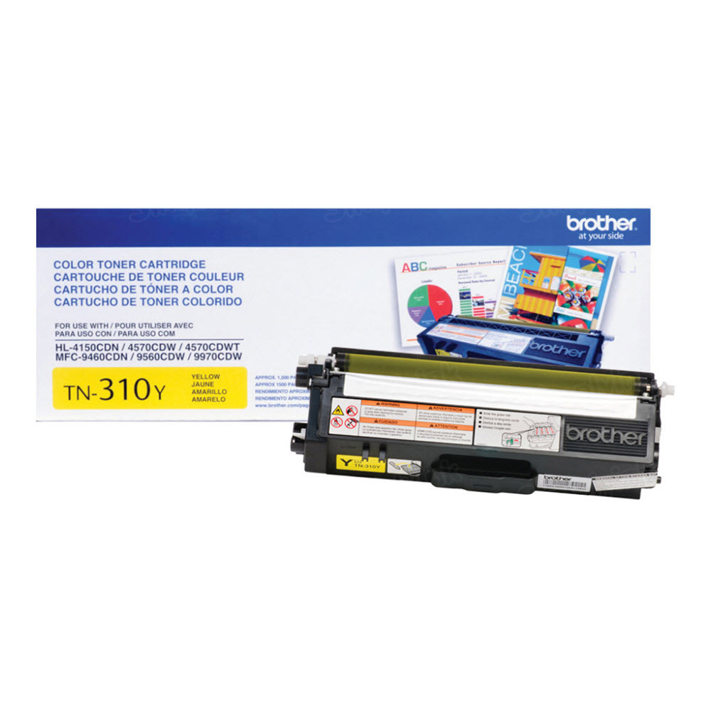 OEM Brother TN310Y Yellow Toner Cartridge