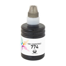 Compatible Replacement for Epson T774120 (774) High Capacity Black Ink Bottle