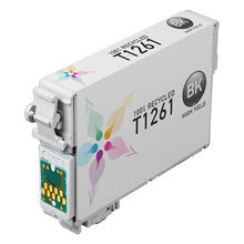 Remanufactured Epson T126120 (T1261) High Capacity Black Ink Cartridges