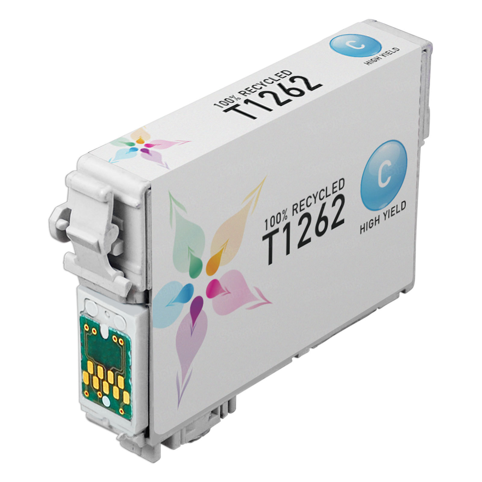 Epson Remanufactured T126220 (T1262) HY Cyan Inkjet Cartridge