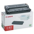 Canon E-40 (4,000 Pages) Black Laser Toner Cartridge - OEM 1491A002AA