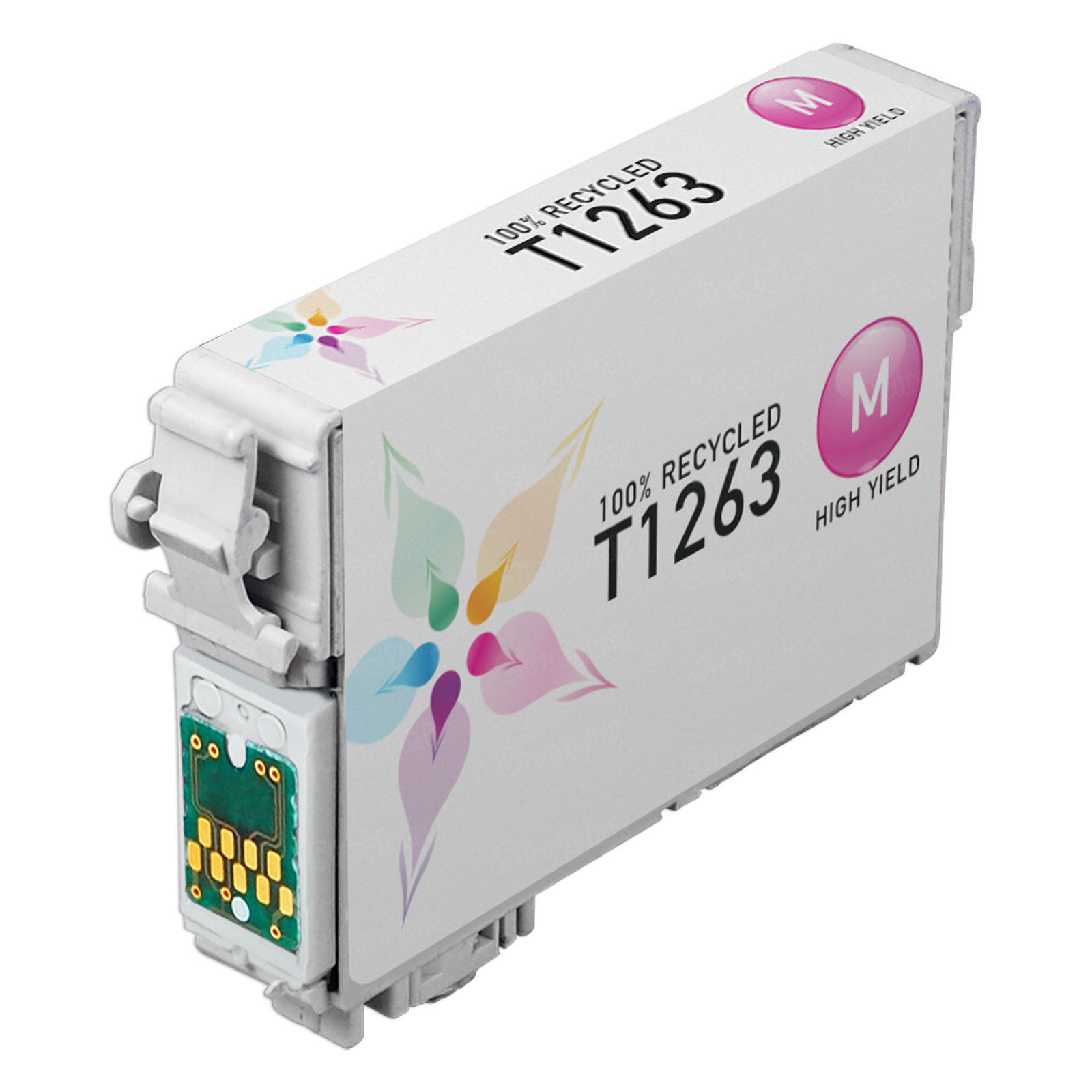 Epson Remanufactured T126320 (T1263) HY Magenta Inkjet Cartridge