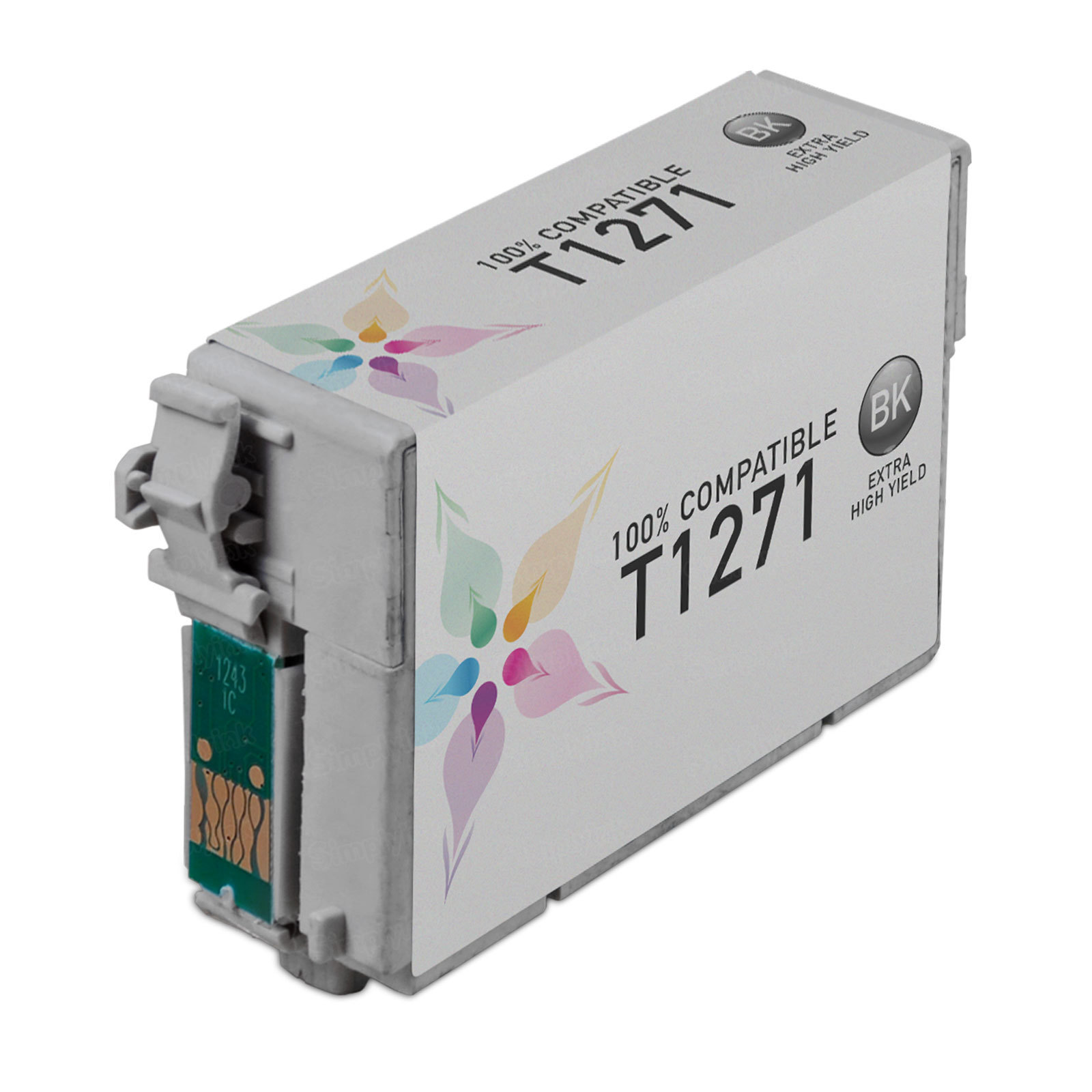 Epson Remanufactured T127120 (T1271) EHY Black Inkjet Cartridge