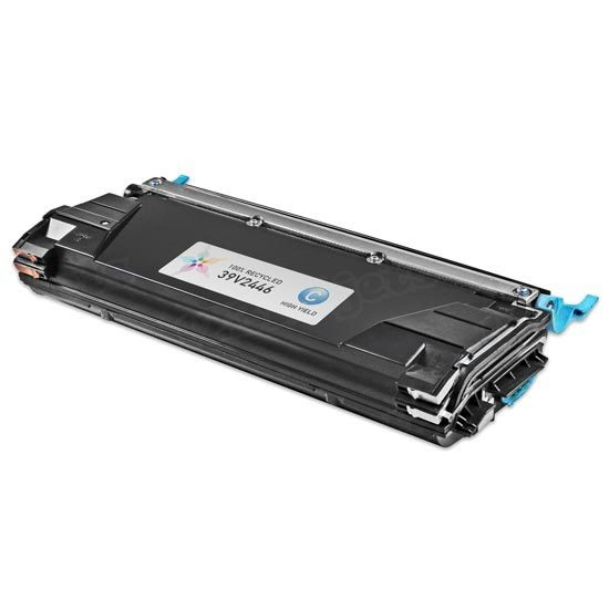 Remanufactured 39V2446 HY Cyan Toner Cartridge for IBM