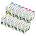 Remanufactured Epson T069 Set of 14 Inkjet Cartridges - Great Deal!