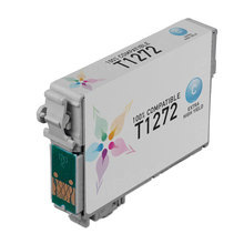 Remanufactured Epson T127220 (T1272) Extra High Yield Cyan Ink Cartridges
