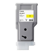 OEM Canon 8792B001AA (PFI-207Y) Yellow Ink