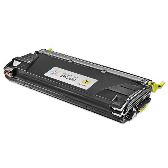 Remanufactured 39V2448 HY Yellow Toner Cartridge for IBM