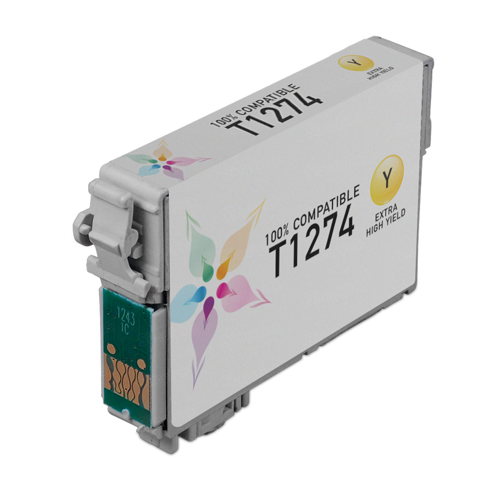 Epson Remanufactured T127420 (T1274) EHY Yellow Inkjet Cartridge