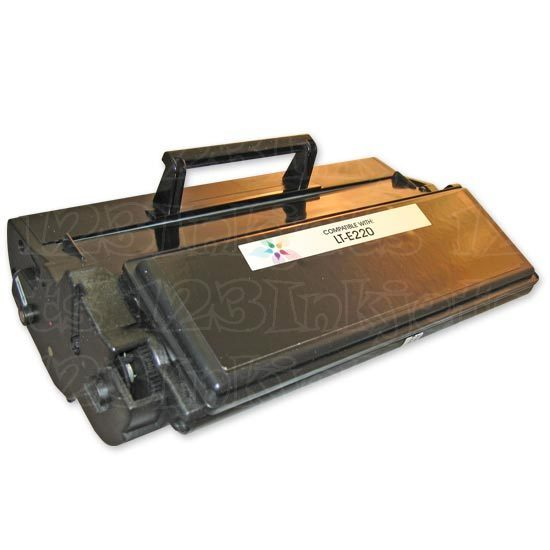 Remanufactured 12S0400 High Yield Black Toner for Lexmark Optra E220