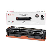 Canon 131 (1,500 Pages) High Yield Black Laser Toner Cartridge - OEM 6272B001AA