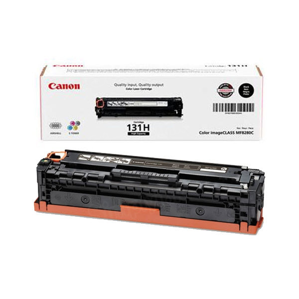 Canon 131II Black HY Toner Cartridge, OEM