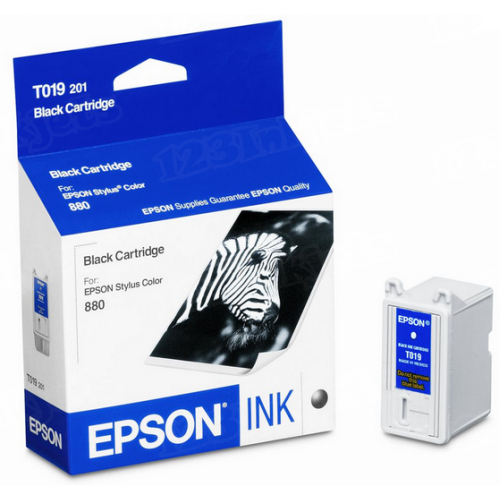 Epson T019201 Black OEM Ink Cartridge