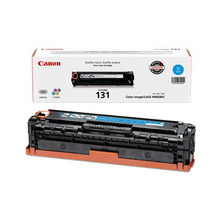 Canon 131 (1,500 Pages) High Yield Cyan Laser Toner Cartridge - OEM 6271B001AA