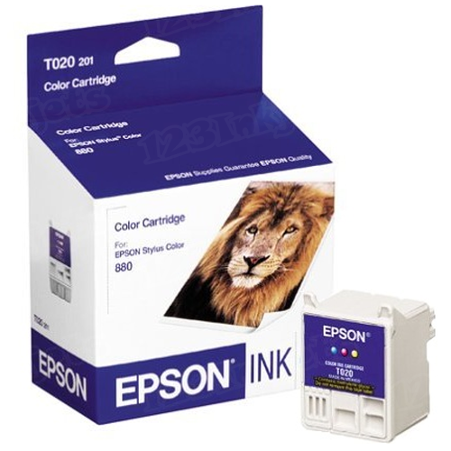 Epson T020201 Color OEM Ink Cartridge
