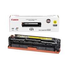 Canon 131 (1,500 Pages) High Yield Yellow Laser Toner Cartridge - OEM 6269B001AA