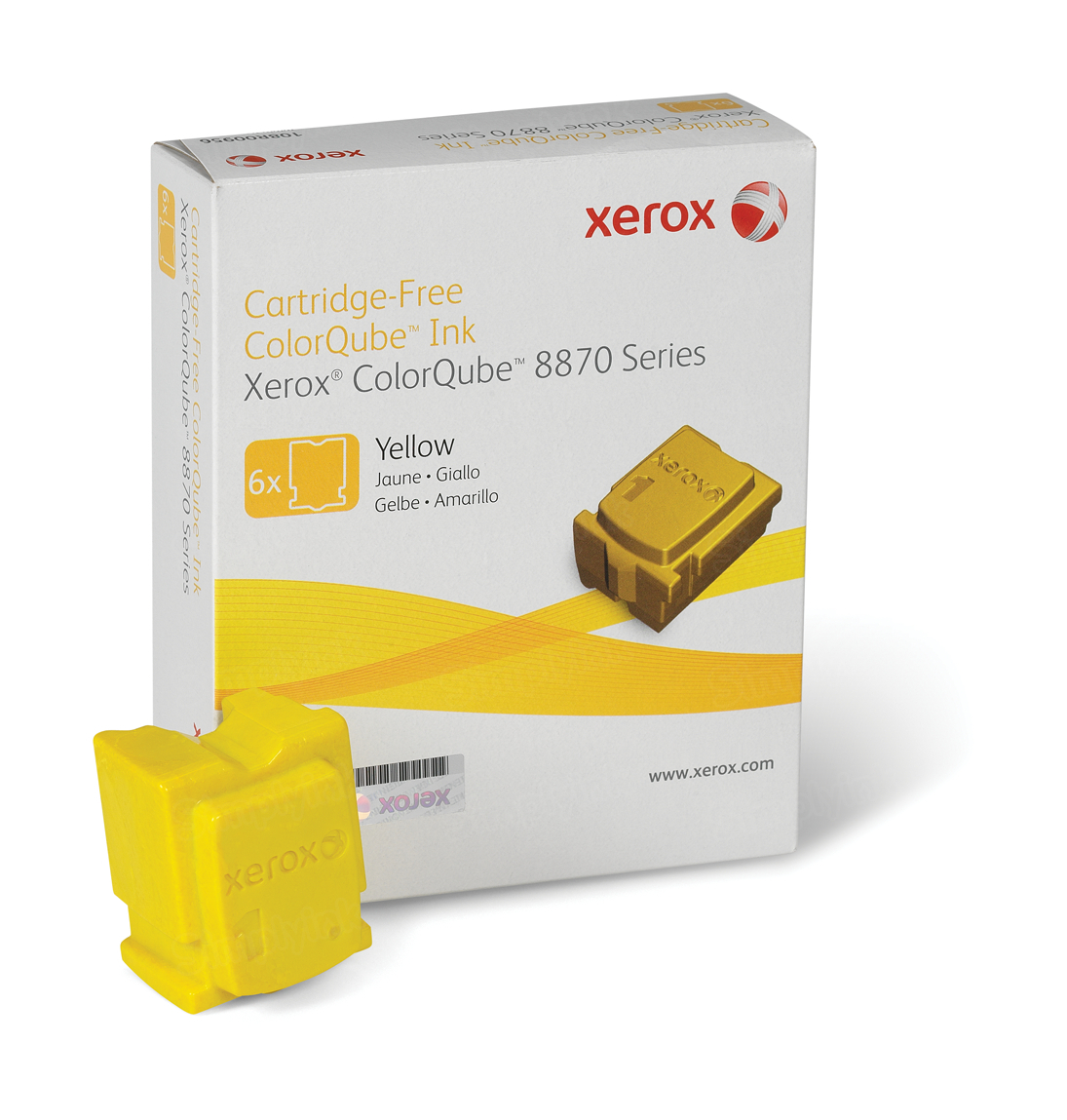 Xerox 108R00952 (108R952) HY Yellow OEM Toner Cartridge