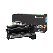 Lexmark OEM Extra High Yield Cyan Return Program Laser Toner Cartridge, C782U1CG (C782/X782 Series) (16.5K Page Yield)