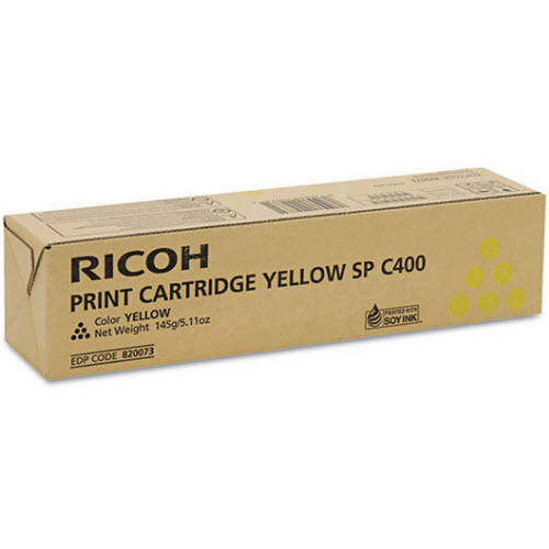 OEM Ricoh 820073 Yellow Toner Cartridge
