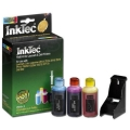 Refill Kit for Dell GR277 (310-8374) Color Ink Cartridges for the Photo all-in-one 966, 968