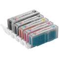 Canon PGI270XL & CLI271XL: 1 Pigment Black PGI270XL & 1 Each of CLI271XL Bk, C, M, Y (Compatible Ink)