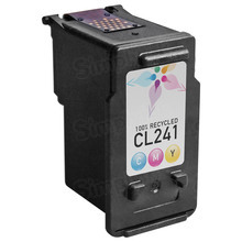 Remanufactured Canon CL-241 / 5209B001 Color Ink Cartridges